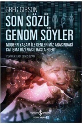 İş Bankası Kültür Yayınları Son Sözü Genom Söyler