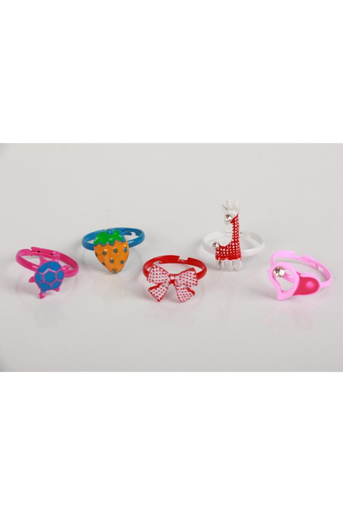 SeaBubbles Kız Çocuk Yüzük Renkli 5'li 1