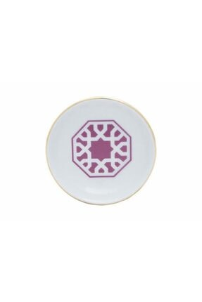 Porland Morocco Desen5 Fuşya Mini Kase 10cm