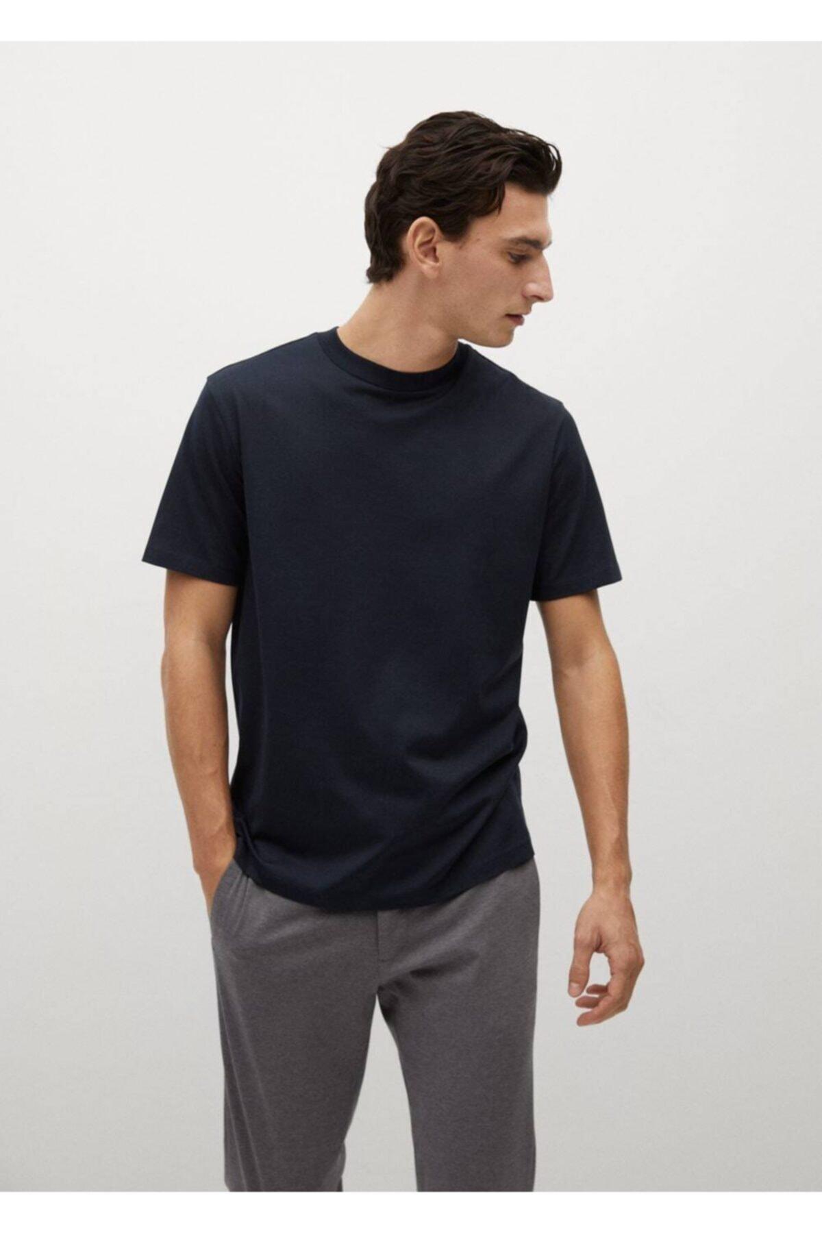 MANGO Man Regular Kesim Merserize Gömlek 1