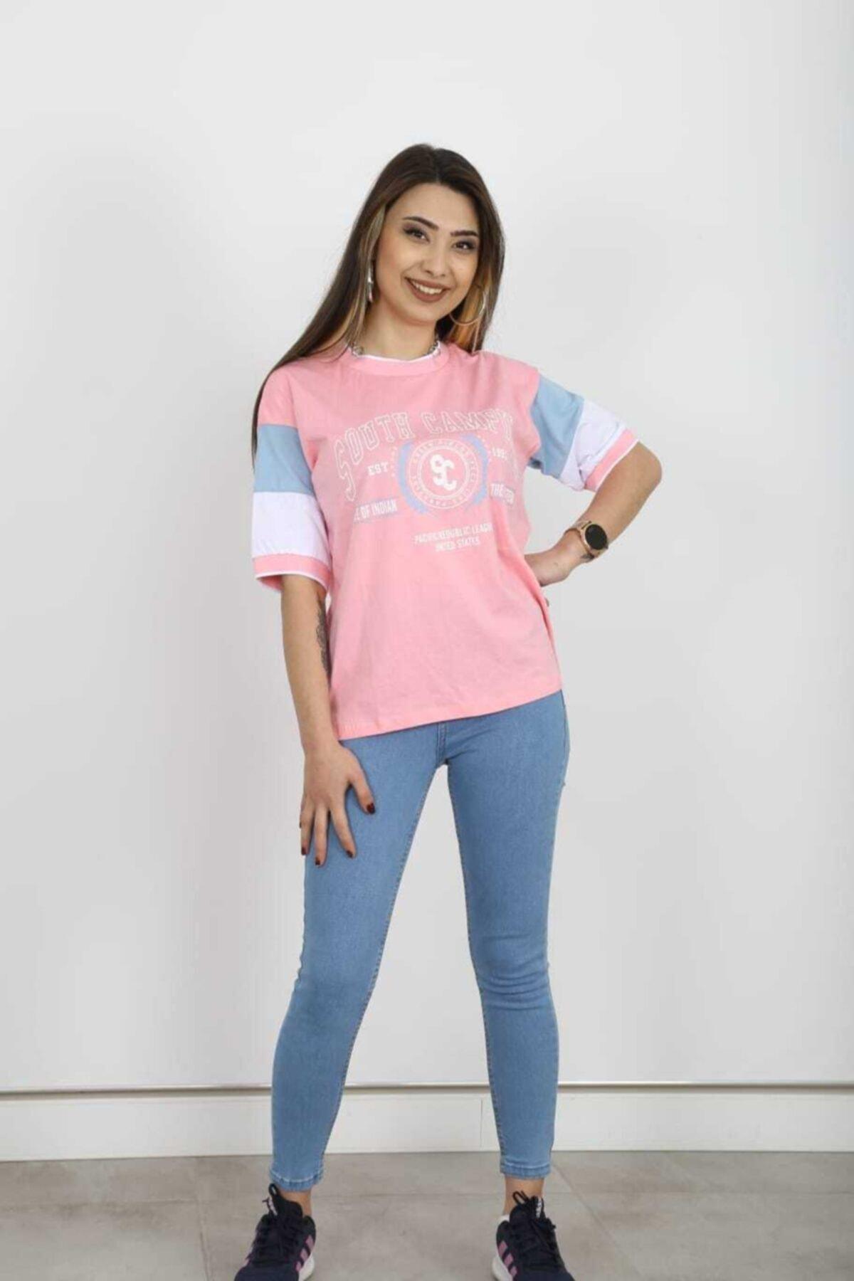 BUTİK FEEL T-shirt Pembe 2