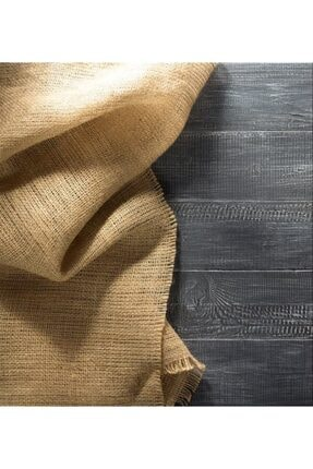 Tugvera Hasır Çuval - Natural Jüt Kumaş - En 1 Metre - Boy 1 Metre