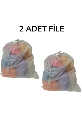 Buffer 2 Adet Perde Tül Güneşlik Çamaşır Makinesi Çamaşır Yıkama Filesi