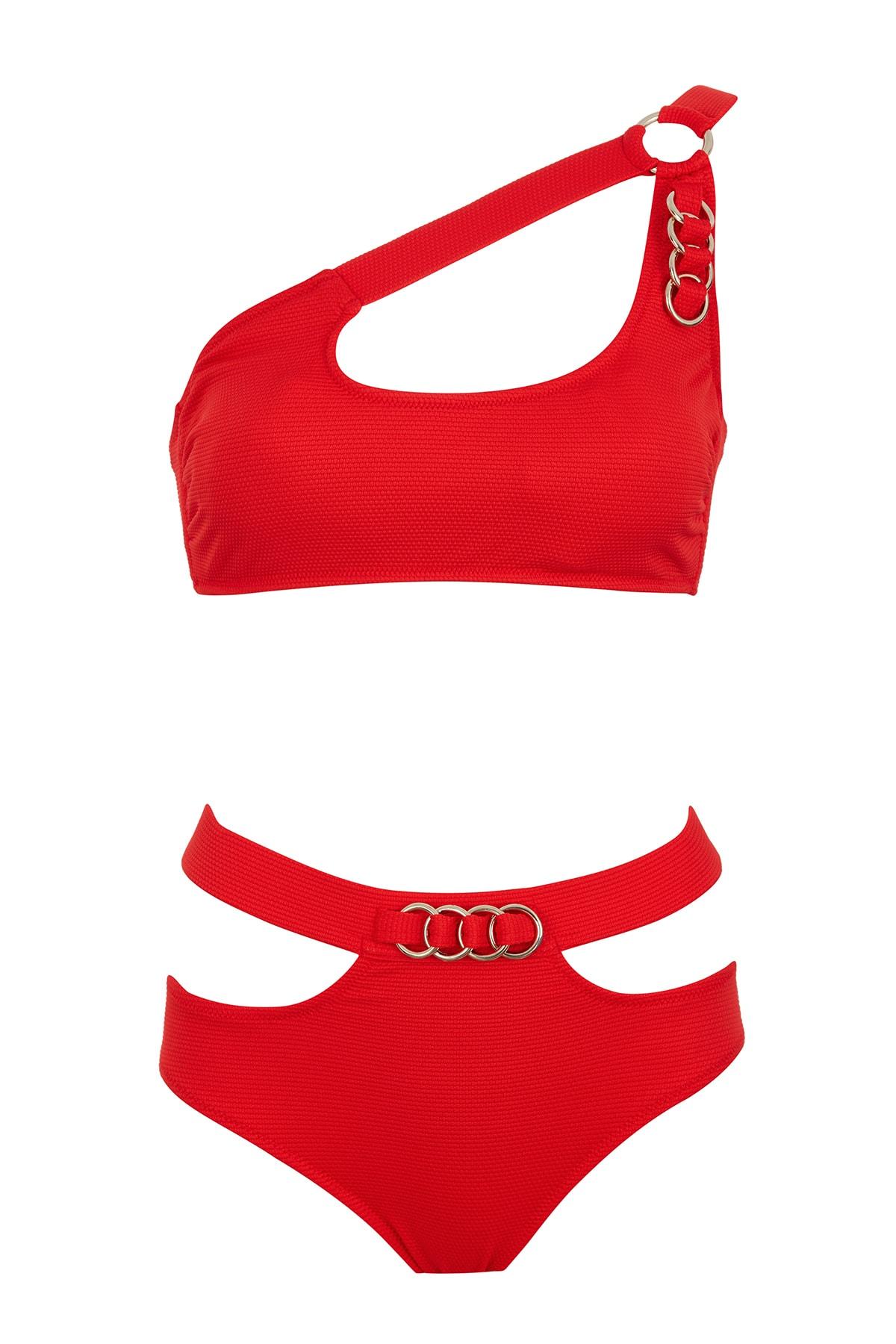 SAILOR swimwear Tek Omuz Halkalı Bikini Takım 1