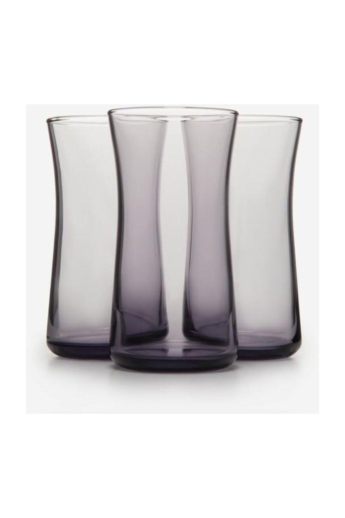 Paşabahçe 3'lü Haybeli Mor Meşrubat Bardağı 420845 1