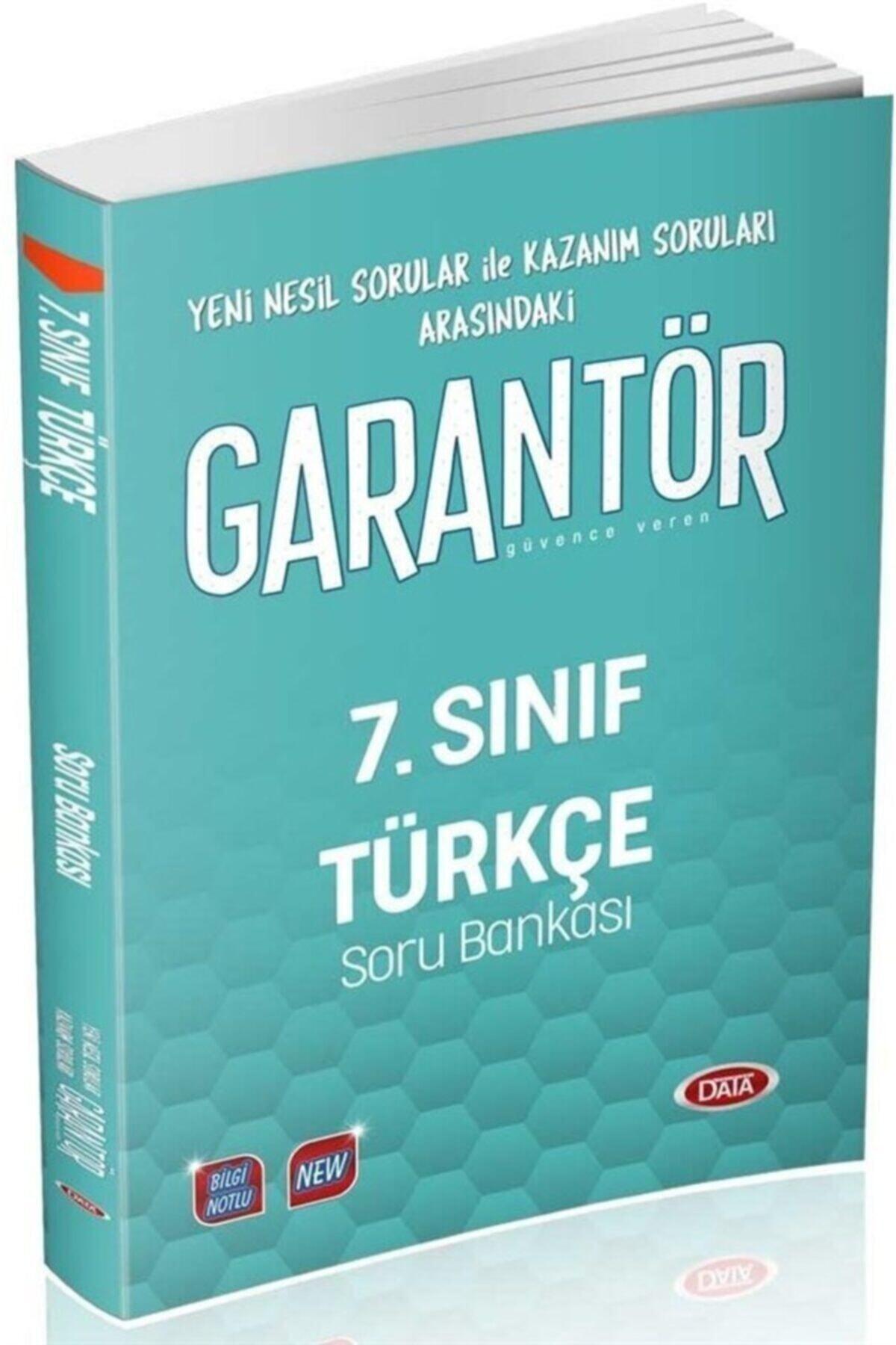 Data Yayınları 7.sınıf Garantör Türkçe Soru Bankası 1