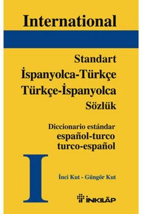 İnkılap Kitabevi Standart Ispanyolca - Türkçe Türkçe - Ispanyolca Sözlük