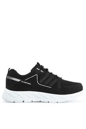 Slazenger ALONE I Sneaker Kadın Ayakkabı Siyah / Beyaz SA11RK098