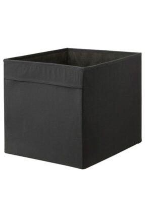 IKEA Düzenleyici Kutu Meridyendukkan Ev Düzeni Düzenleme Saklama Kutusu Siyah 33x38x33 Cm