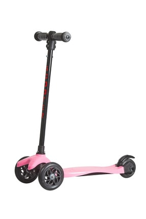 Scooter Çocuk Scooter  Scoo-bee Üç Tekerlekli , Frenli , Yükseklik Ayarlı Pembe