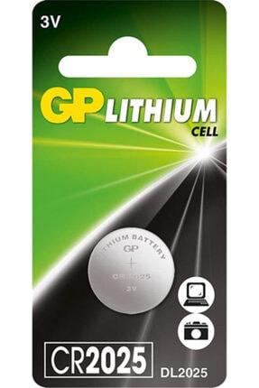 TİKTAK SAAT Gp Cr2025 3v Lityum Para Pil 1adet