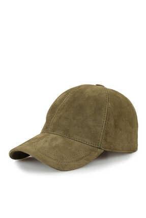 Premium ONLY Hakiki Nubuk Süet Deri Beyzbol Kep Şapka Ayarlanabilir Unisex