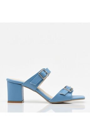 Hotiç Mavi Yaya Kadın Sandalet & Terlik