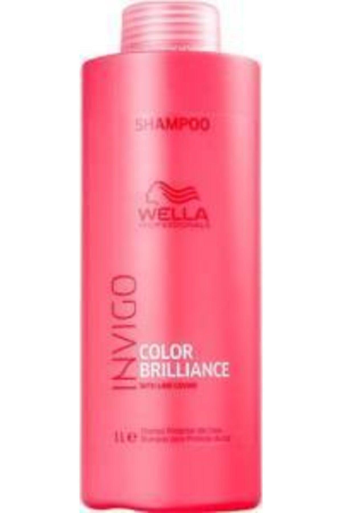 Wella Invigo Color Brilliance Renk Koruyucu Şampuan 1000 ml 1