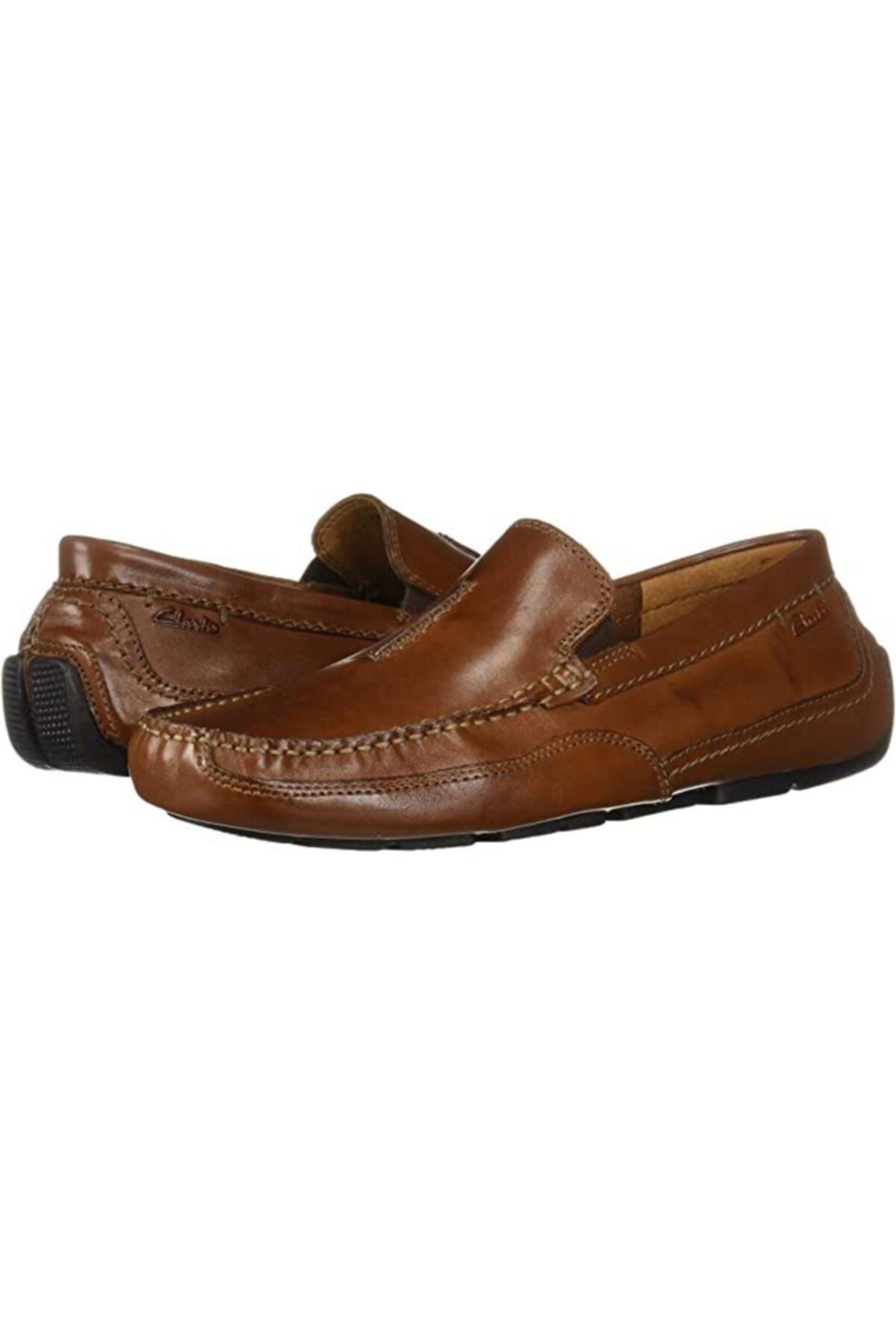 CLARKS Erkek Kahverengi Klasik Şık Ve Rahat Çok Yönlü Ürün Ashmont Race Ayakkabı 1
