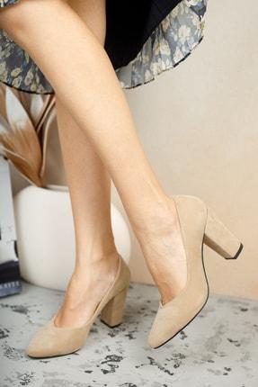 MUGGO Vizon Kadın Klasik Topuklu Ayakkabı DPRGZHWY707