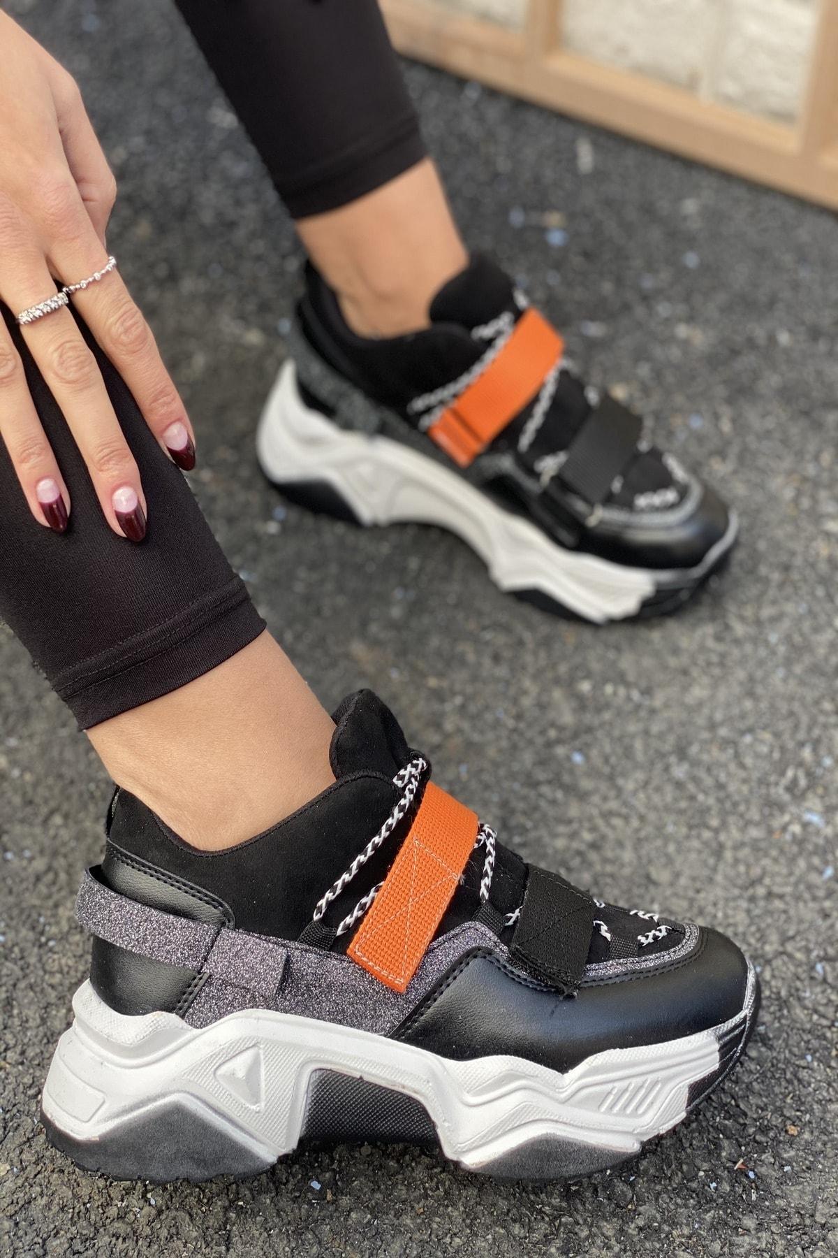 İnan Ayakkabı Cırtlı Sneakers 2