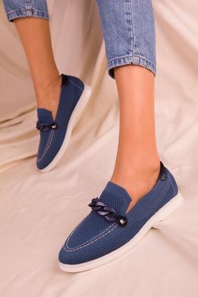 SOHO Lacivert  Kadın Casual Ayakkabı 16039
