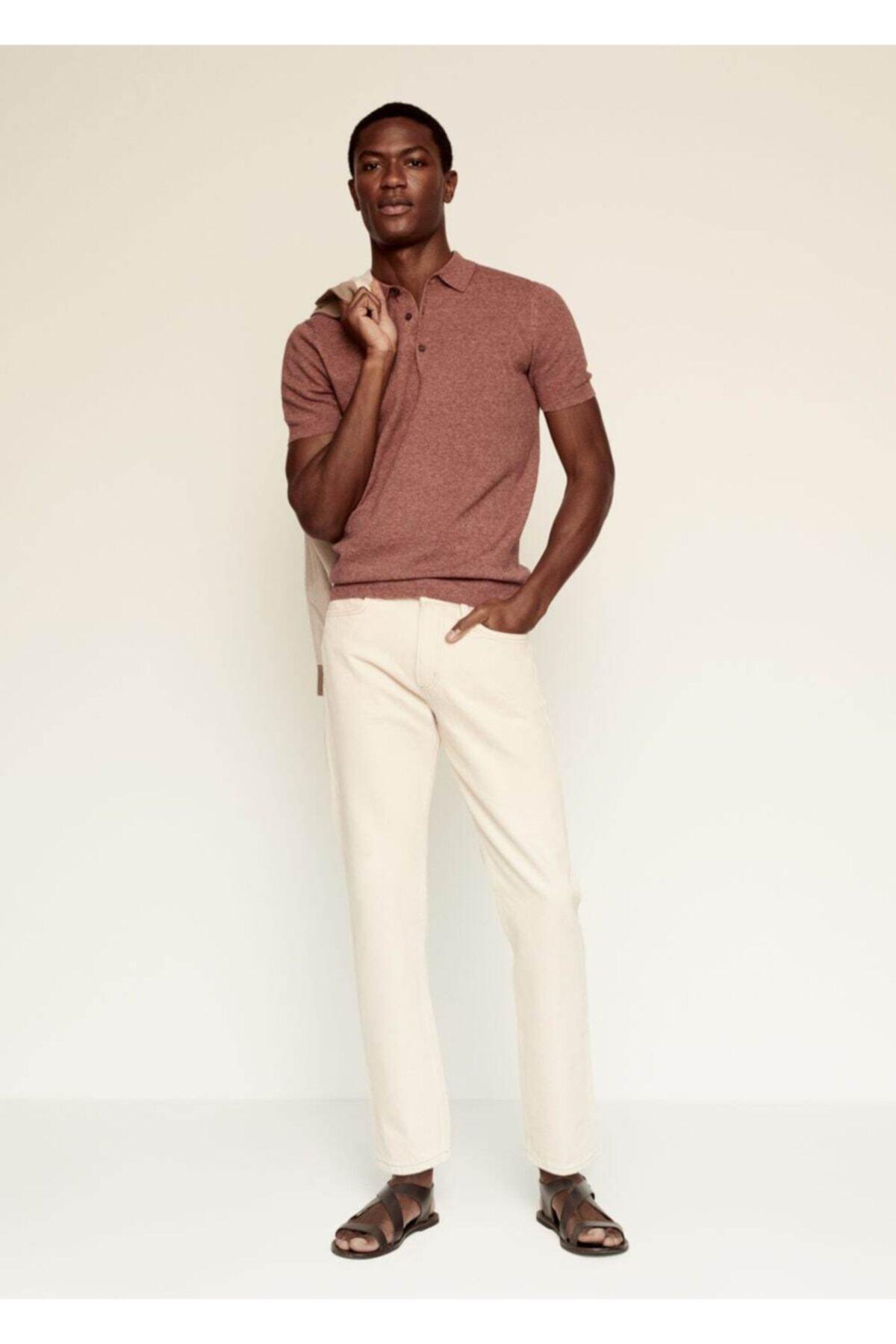 MANGO Man Karışımlı Polo Gömlek 2