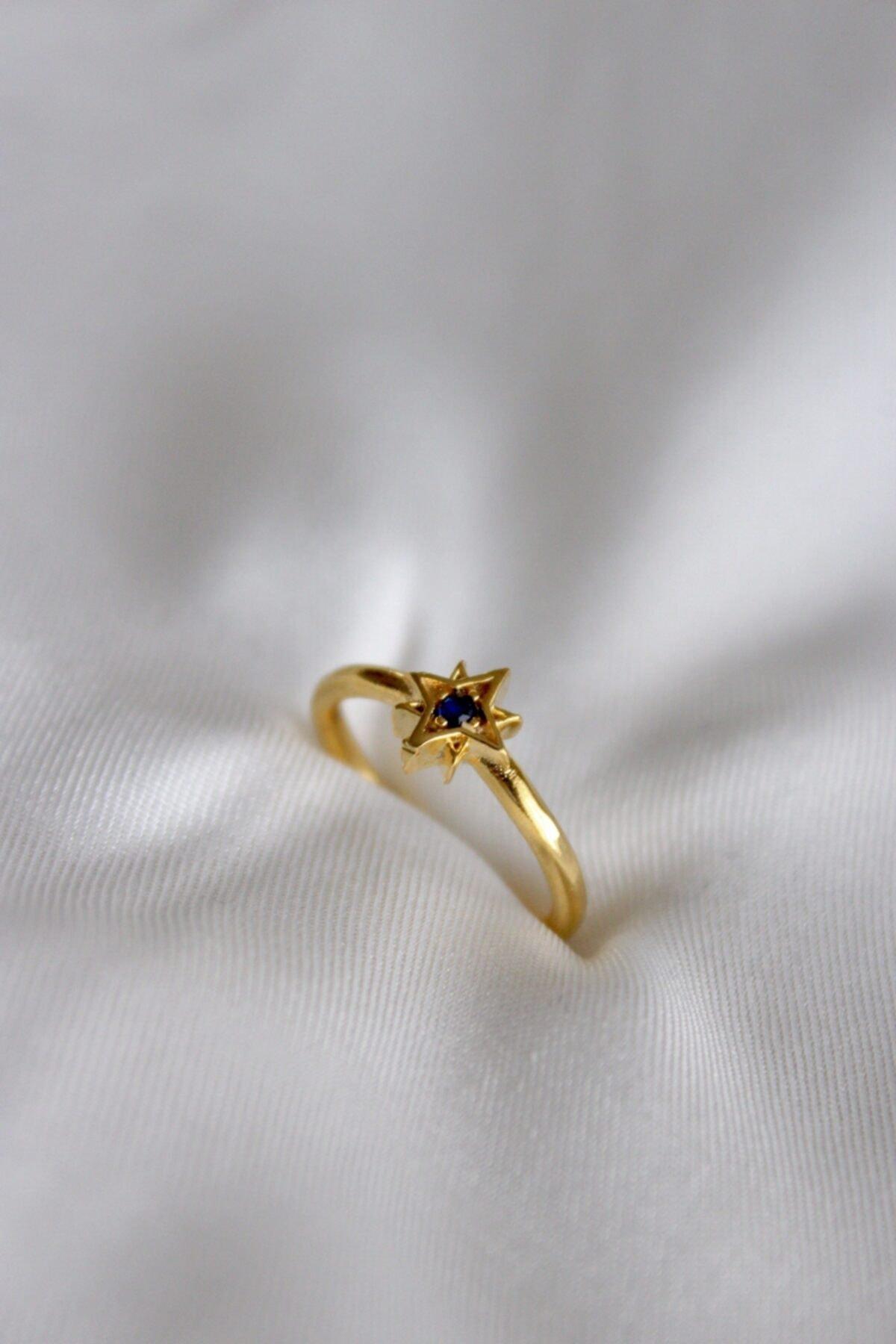 Neslihan's Jewelry Ayarlanabilir Kutup Yıldızı Yüzük 2