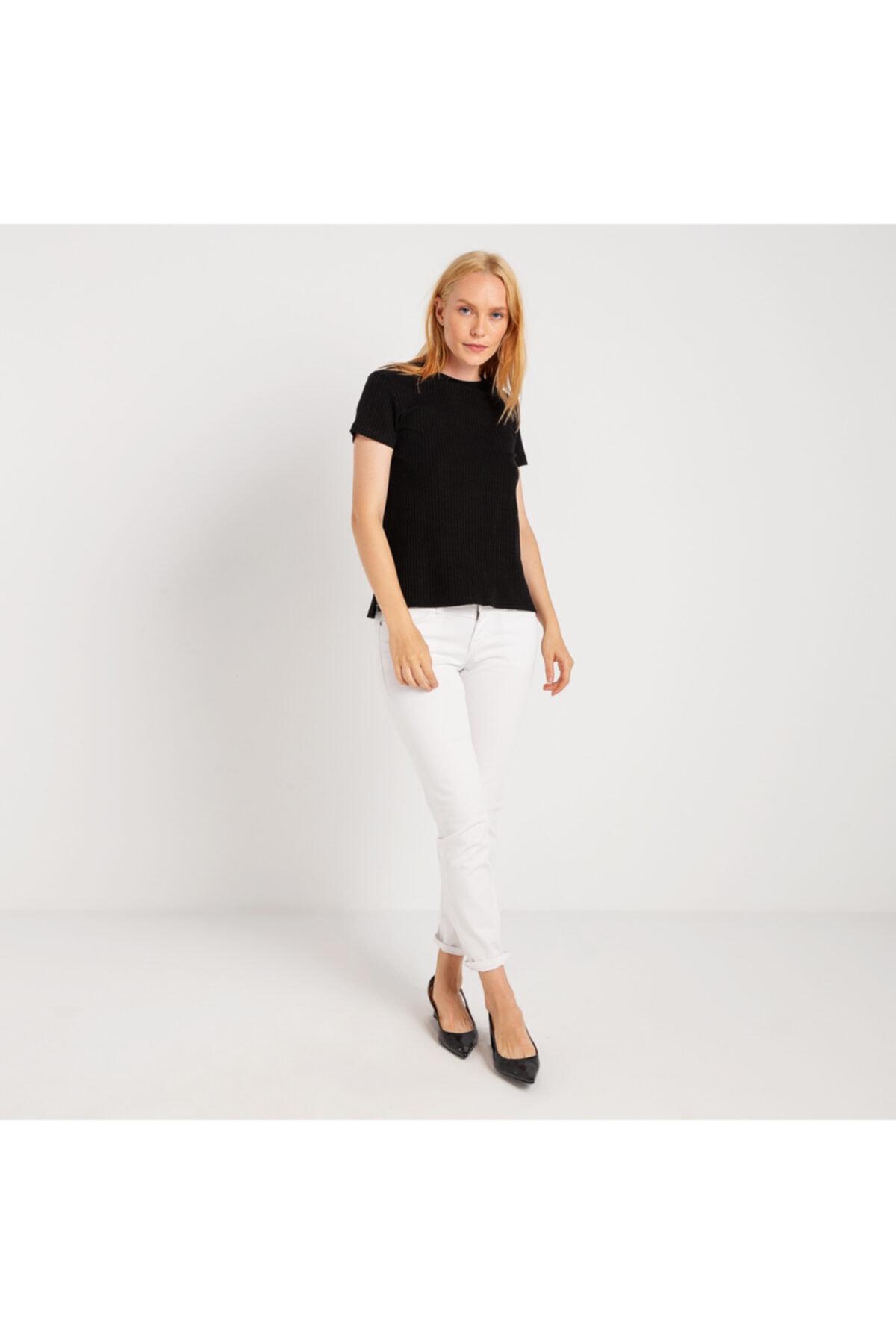 Mustang Kadın T-shirt Siyah 1