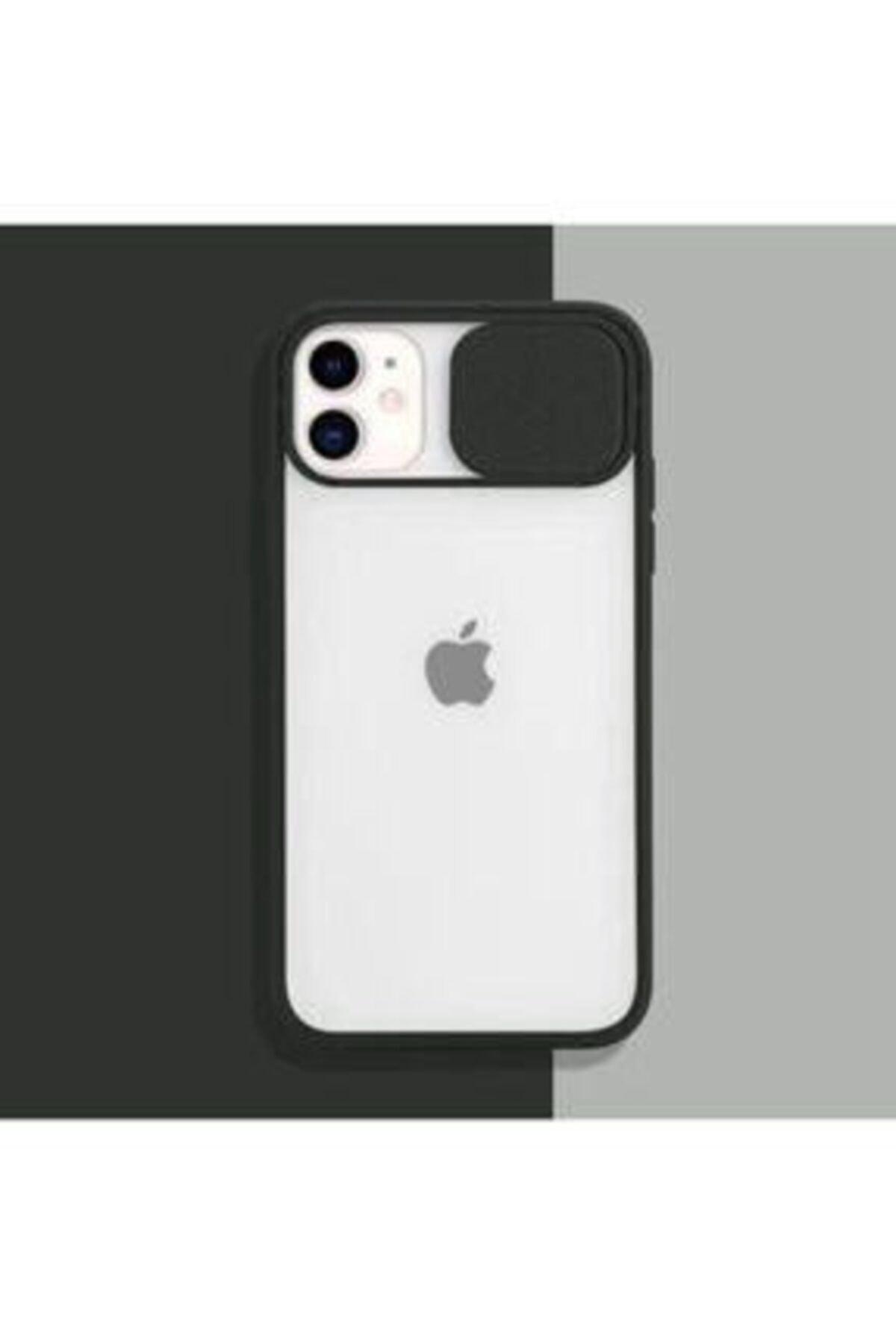 ULS Iphone 12 Uyumlu Kamera Lens Korumalı Sürgülü Kılıf 1