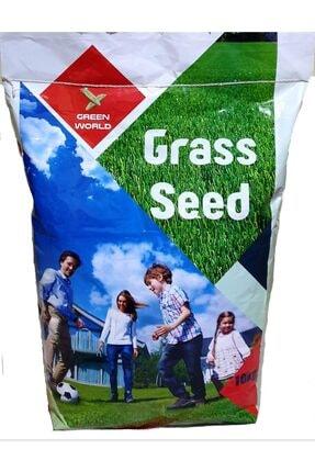Grass Seed 7 Günde Çimlenen Üzerine Basılabilir Karışım Çim Tohumu 2 kg  6 Lı