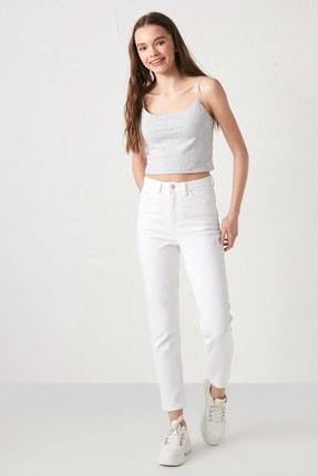 LC Waikiki Kadın Beyaz Rodeo Jeans