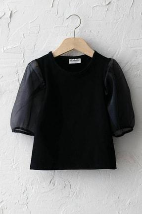 LC Waikiki Kız Çocuk Yeni Siyah Cvl Bluz