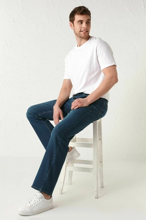 LC Waikiki Erkek Koyu Rodeo Jeans