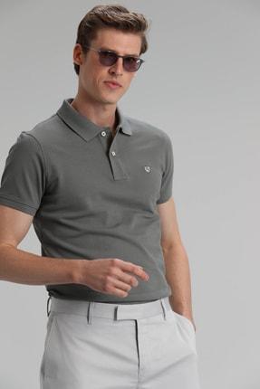 Lufian Laon Spor Polo T- Shirt Haki