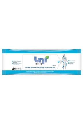 Uni Antibakteriyel Perine Bölgesi Yıkama Havlusu 50 li