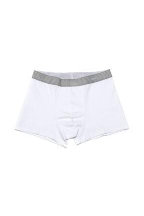 Dagi Erkek Beyaz Compact Düz Boxer 5210 2 Adet