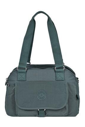 SMART BAGS 1122 Haki Renk Omuz Çantası