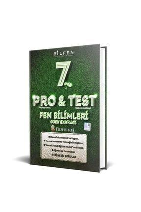 Bilfen Yayıncılık Bilfen Yayınları 7. Sınıf Pro Test Fen Bilimleri Soru Bankası