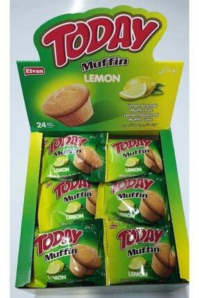 Elvan Today Muffin Kek Limonlu 23 Gr 24 Adet