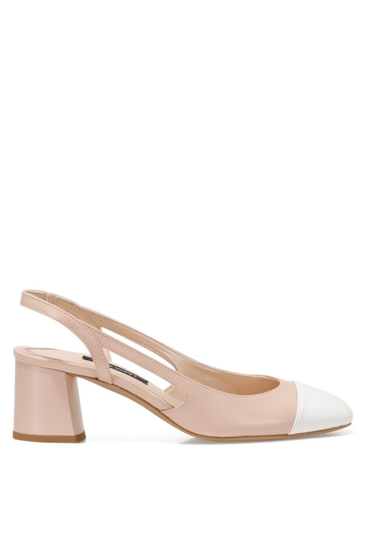 Nine West SENDAR Pudra Kadın Klasik Topuklu Ayakkabı 100526629 1