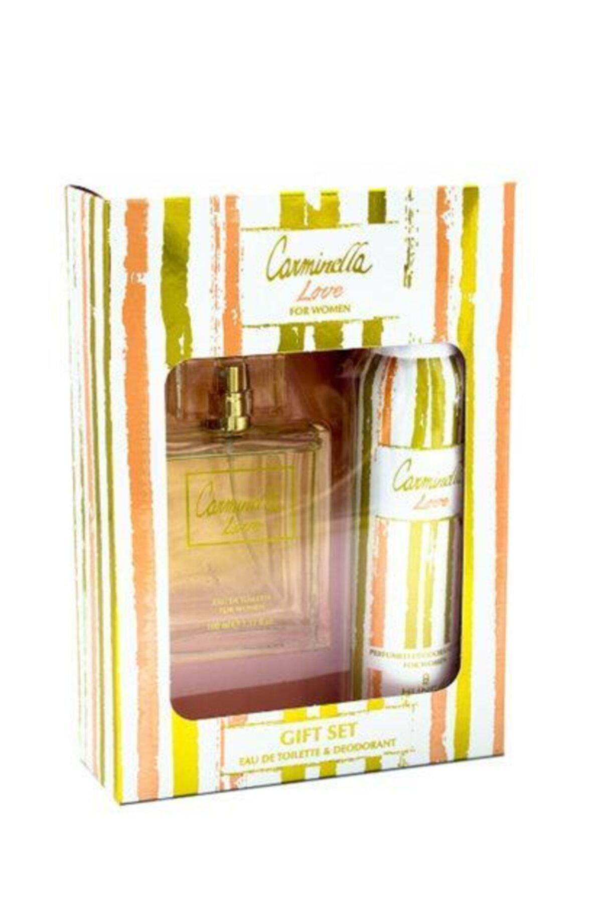Carminella Love Edt 100 Ml Kadın Parfüm Seti 1