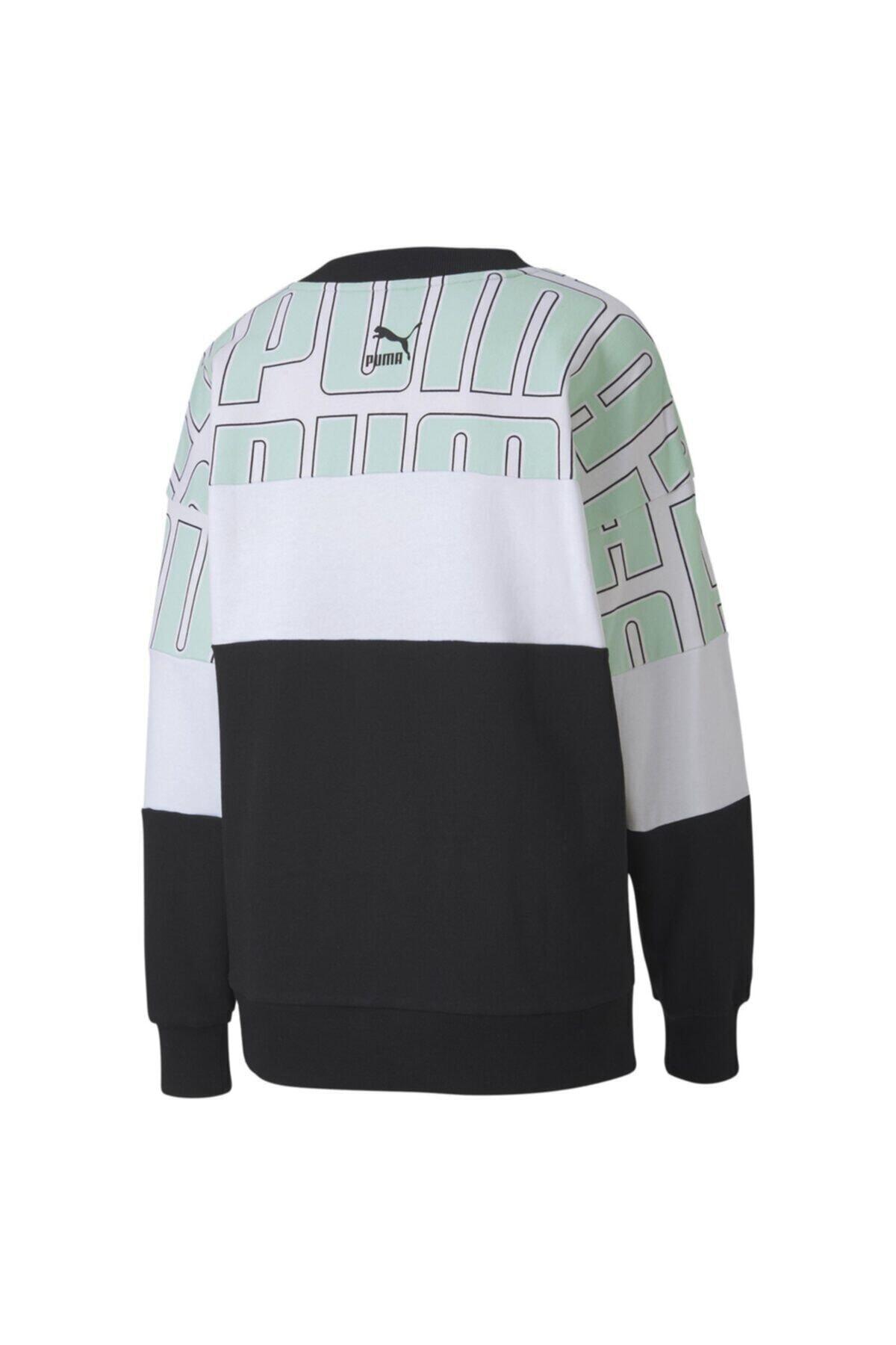 Puma Aop Crew Kadın Sweatshirt - 59625032 2