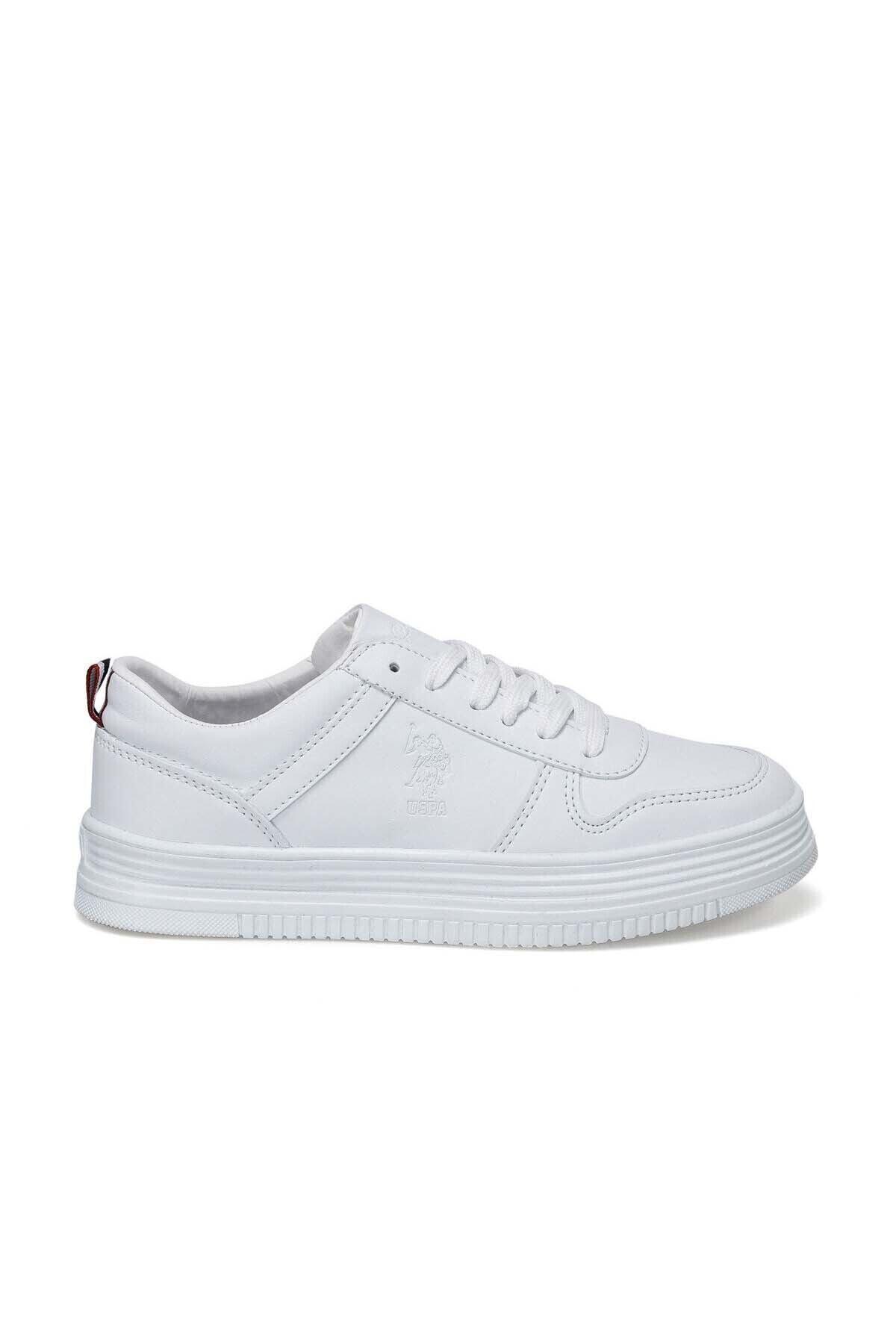 U.S. Polo Assn. Kadın Beyaz Spor Ayakkabı 100371036 2