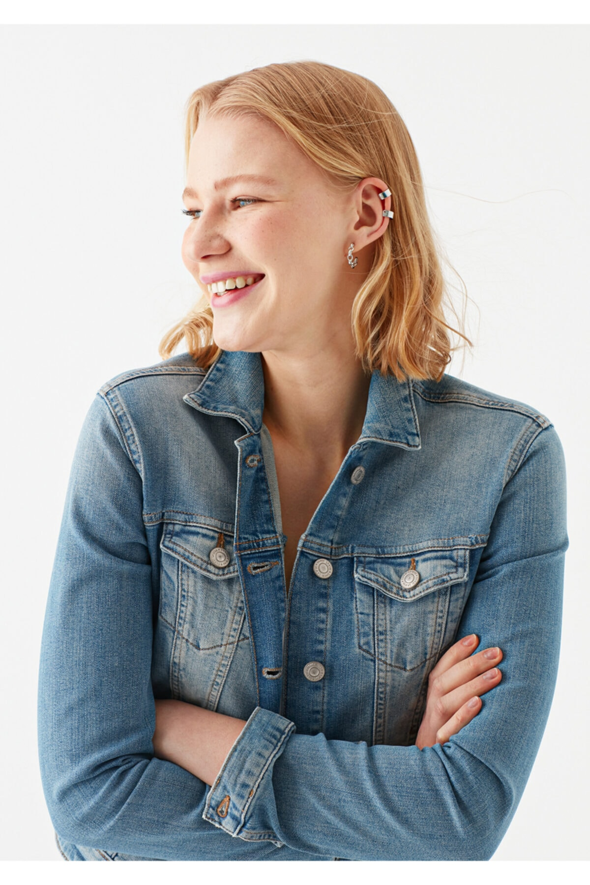 Mavi Daphne Vintage Jean Ceket 1174123599 2
