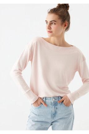 Mavi Kadın Pembe Uzun Kollu Tişört