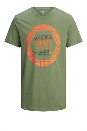 Jack & Jones Yazılı 0 Yaka Tshırt