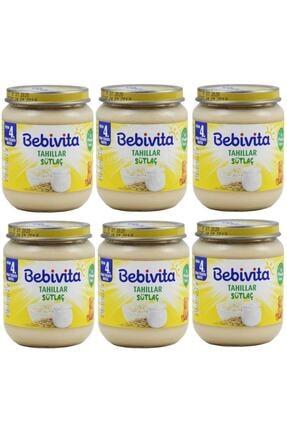 Bebivita Kavanoz Mamaları Sütlaç 125 Gr(+4 Ay) 6'lı Paket