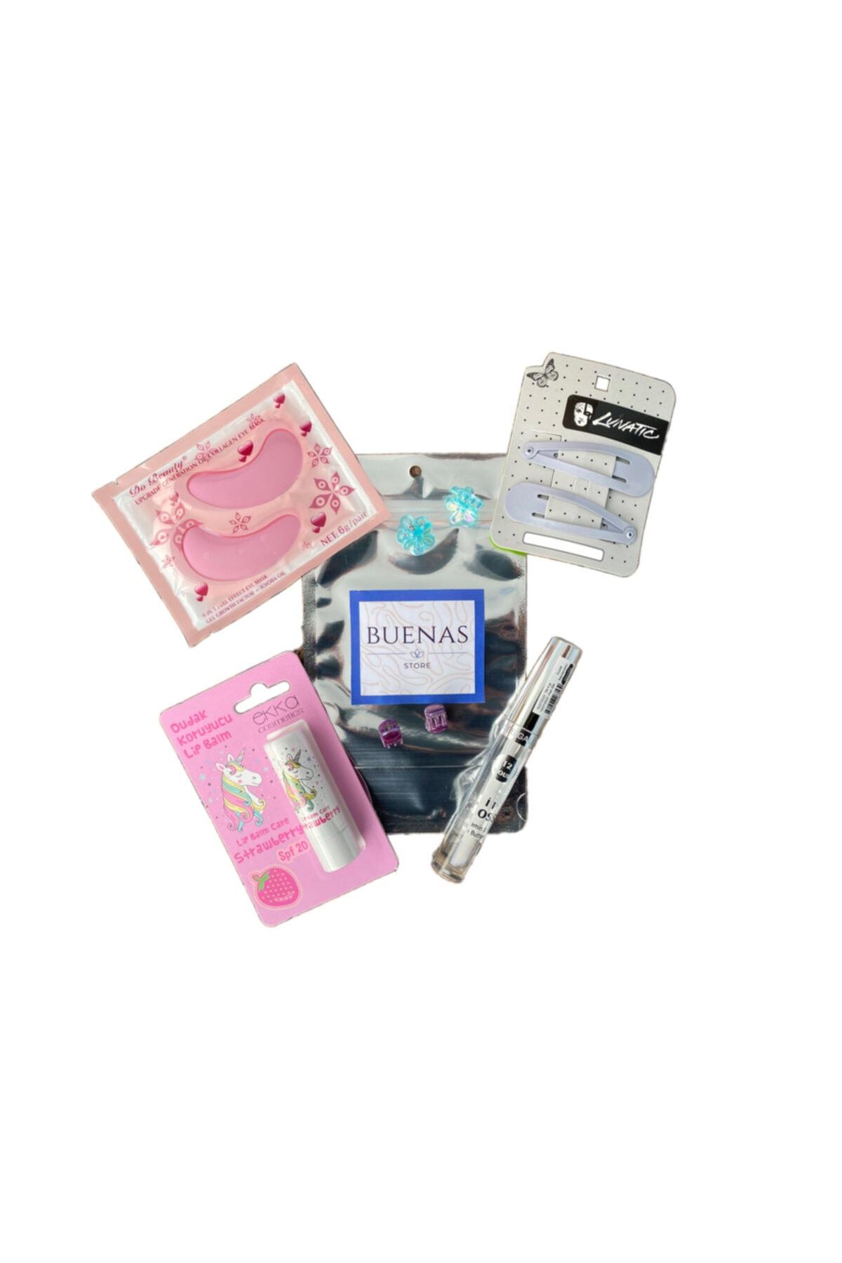 buenas store Dudak Bakım Seti - Lip Balm & Lip Gloss 1