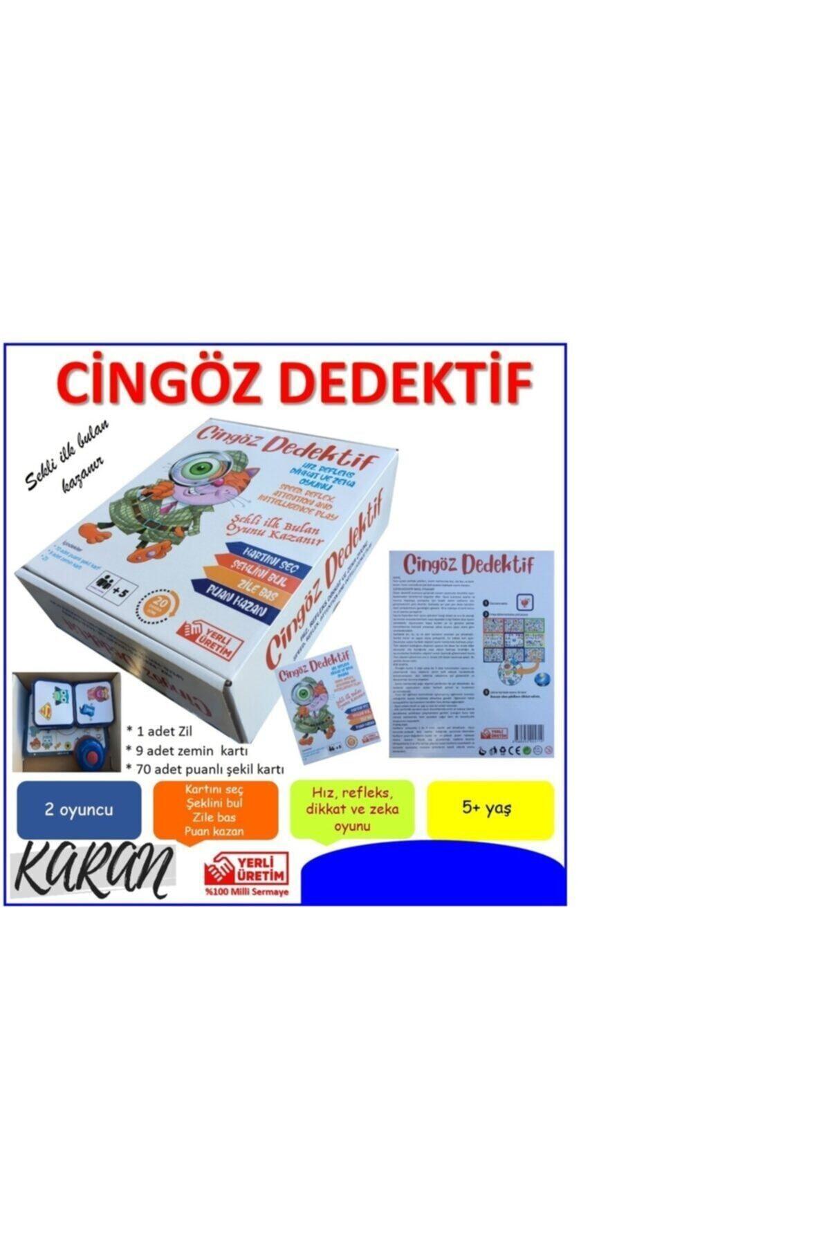 Bundera Dedektif Oyunu Dedektif Plus Hızlı Dedektif Cingöz Dedektif Akıl ve Zeka Oyunu 2