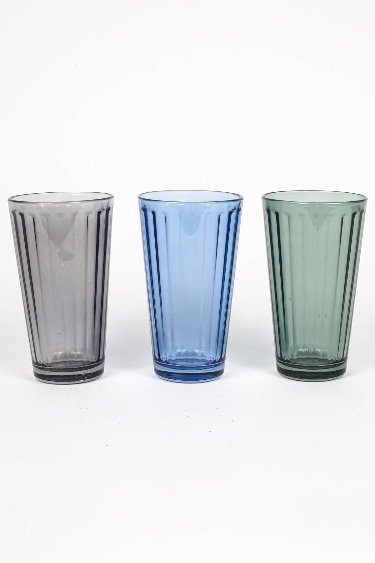 Rakle City 3'lü Meşrubat Bardağı Seti 2
