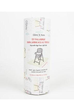 Olive&Mom Design Mama Sandalyesi Ve Aktivite Örtüsü 100x150cm (24 METRE)