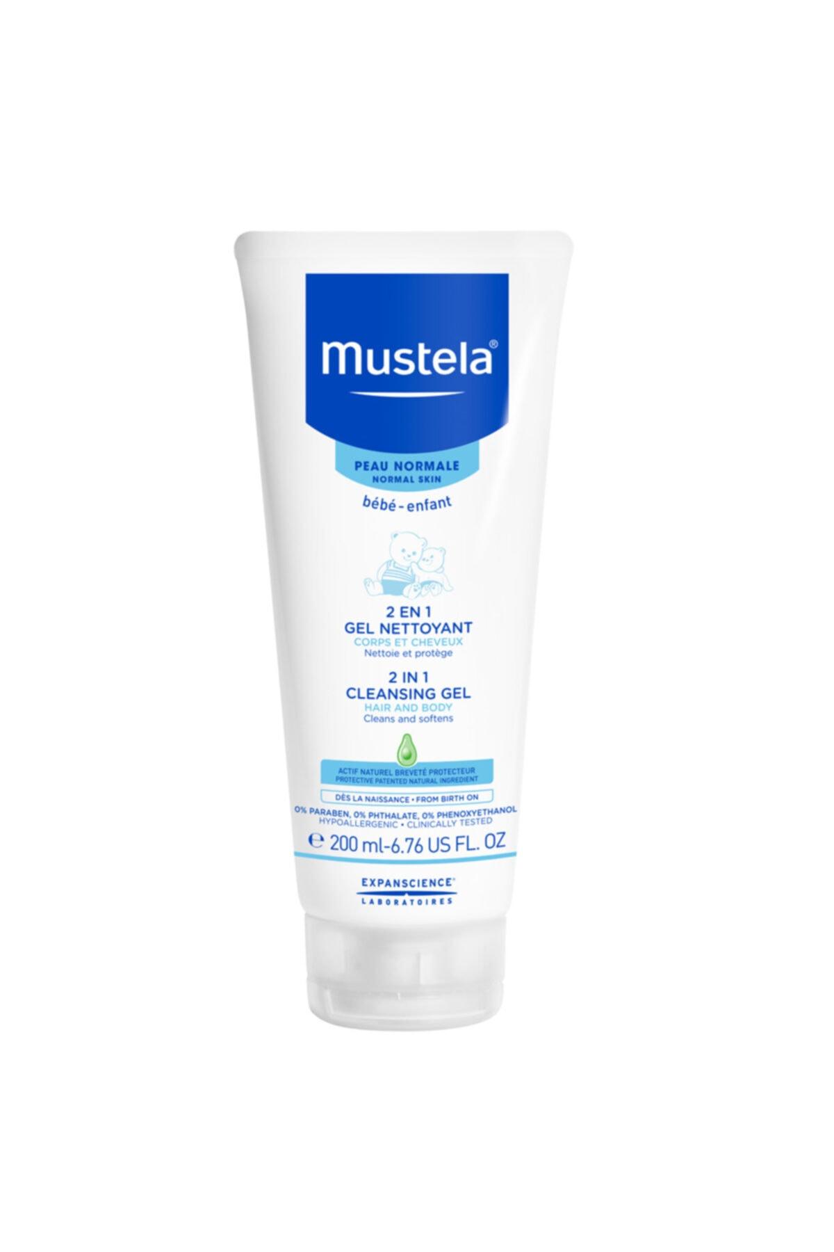 Mustela 2 In 1 Hair And Body Cleansing Gel 200 Ml-Saç Ve Vücut Şampuanı 1
