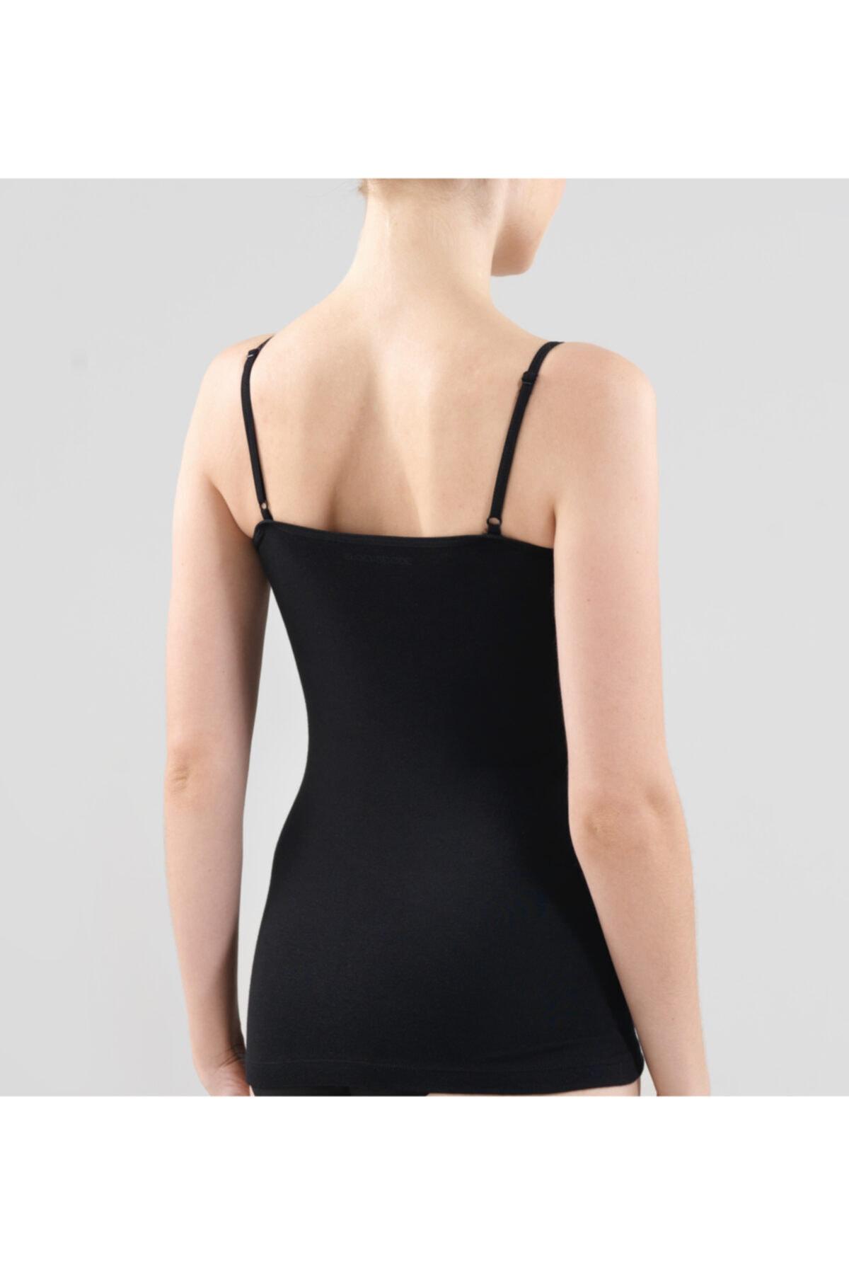 Blackspade Kadın Ince Askılı Atlet Essential 1952 - Siyah 2
